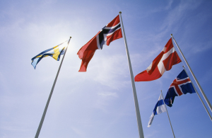 Flags of the Nordics
